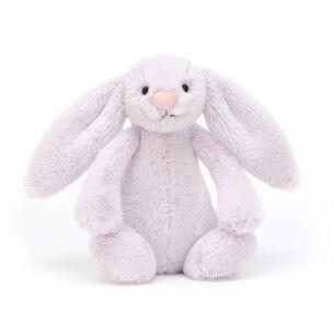 Small Bashful Lavender Bunny
