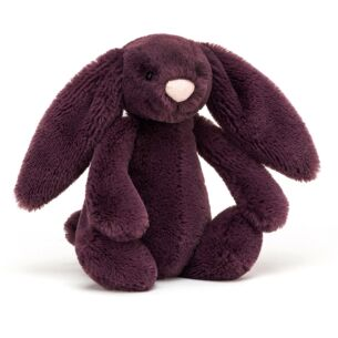 Small Bashful Plum Bunny