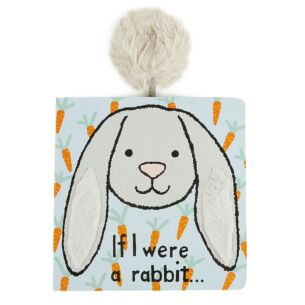 If I Were A Rabbit Silver Board Book