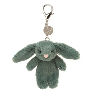 Jellycat Bashful Bunny Forest Bag Charm