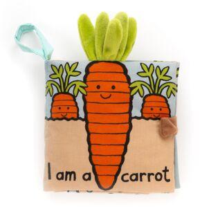 I Am A Carrot Fabric Book