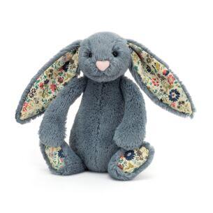 Small Blossom Dusky Blue Bunny
