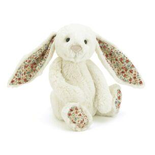 Large Blossom Cream Bunny