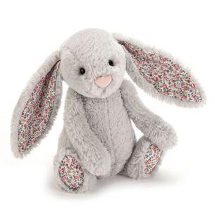 Medium Blossom Silver Bunny