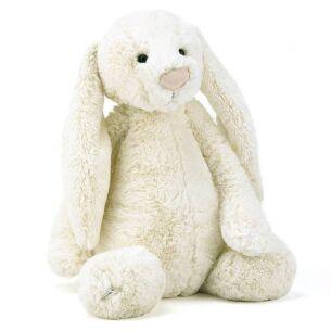 Large Bashful Cream Bunny