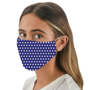Snoozies Face Cover with Flexible Nose Bridge – Marine