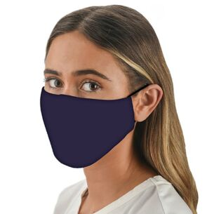Snoozies Face Cover with Flexible Nose Bridge – Navy Blue