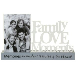 Loving Words Decorative Family Photo Frame 6x4