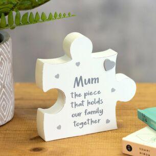 Mum Jigsaw Plaque