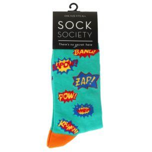Green Pow Socks