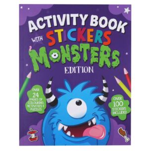 Monsters Activity and Sticker Book