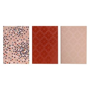 Dance Floor Dot Triple Notebook Set