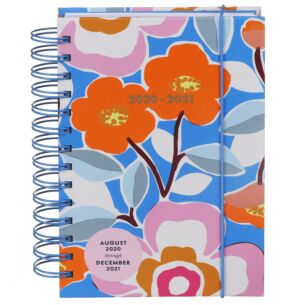 Floral Pop 17 Month 2020-2021 Medium Academic Diary