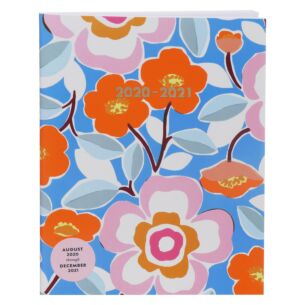 Floral Pop 17 Month 2020-2021 Booklet Diary