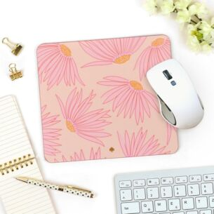 Falling Flower Mouse Pad