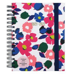 Botanical Garden 17 Month 2021-2022 Large Academic Diary