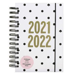 Black Spade Dot 17 Month 2021-2022 Medium Academic Diary