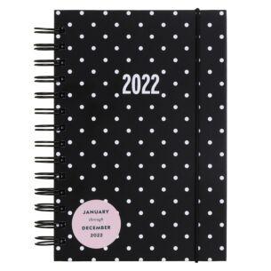 Pin Dot 12 Month 2022 Spiral Medium Planner
