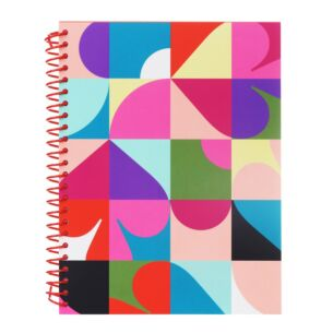 Spade Dot Geo Small Spiral Notebook