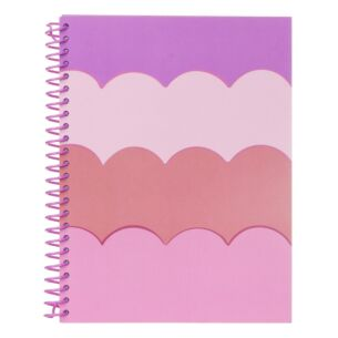 Scallop Small Spiral Notebook