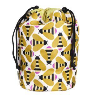 Busy Bee Barrel Wash Bag