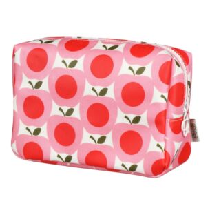 Apple Large Cosmetic Bag