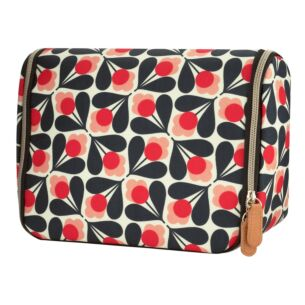Orla Kiely Sycamore Seed Hanging Wash Bag