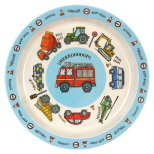 Leonardo's Little Stars Vehicles Plate