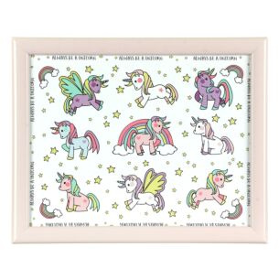Unicorns Small Lap Tray