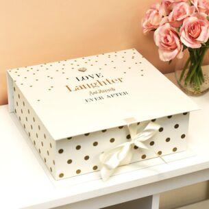 Mad Dots Keepsake Box