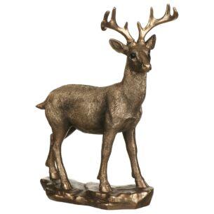 Reflections Bronzed Deer