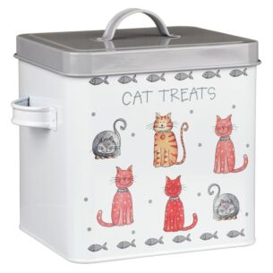 Faithful Friends Cat Treats Tin