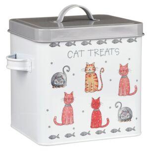 Faithful Friends Cat Treats Tin