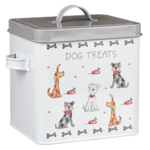 Faithful Friends Dog Treats Tin