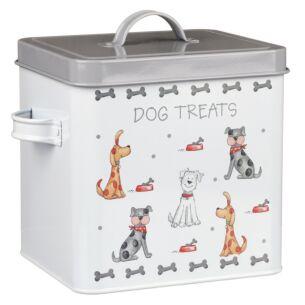 Faithful Friends Dog Treats Tin