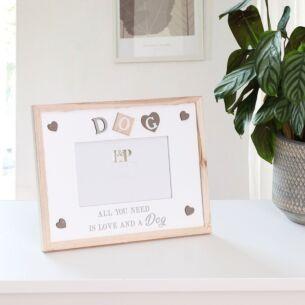 "Sentiments 'Dog' 4""x 6"" Photo Frame"