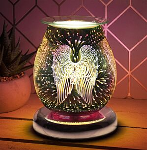 Desire Bulbous Angel Wings Aroma Lamp Wax Melt Warmer