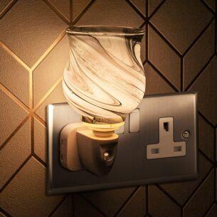 Desire Marble Plug In Wax Melt Warmer