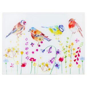 Garden Birds Cutting Board