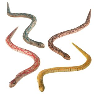 Assorted Retro Wooden Snake