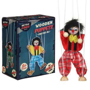Retro Games Wooden Puppet