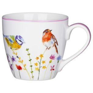 Garden Birds Breakfast Mug