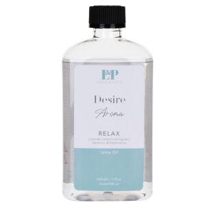 """Desire Aroma """"Relax"""" Fragrance Oil 500ml Refill"""