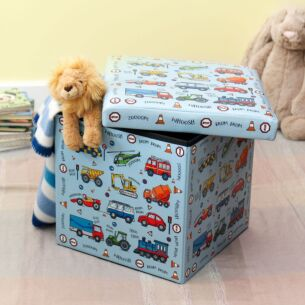 Vehicles Flat Pack Storage Box