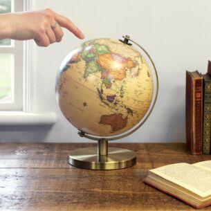 Medium Vintage Globe