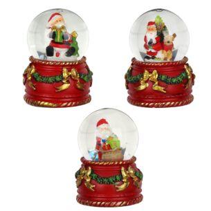 Santa Waterball Snow Globe