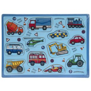 Vehicles 12 Piece Puzzle