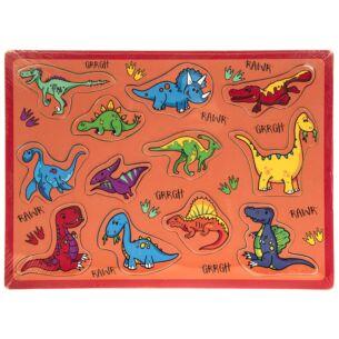 Dinosaurs 12 Piece Puzzle