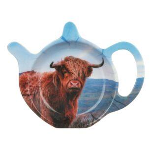Highland Cow Teabag Tidy
