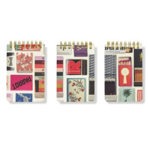 Kate Spade New York Strike a Match Set of Three Notepads